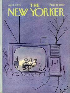 The New Yorker Cover - April 4, 1970 by Stan Hunt