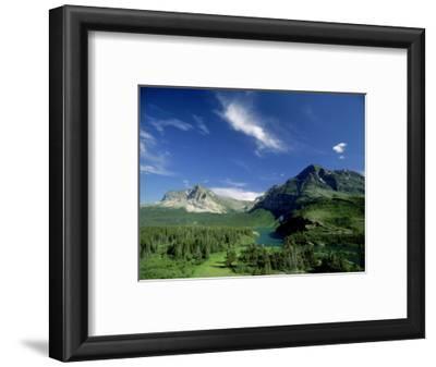 Landscape at Many Glacier, Montana, USA
