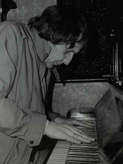 Stan Tracey Playing the Piano at the Bell, Codicote, Hertfordshire, 2 February 1986-Denis Williams-Photographic Print