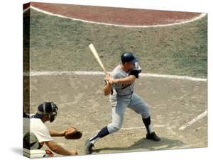 Baseball Player Harmon Killebrew of the Minnesota Twins at Bat by Stan Wayman