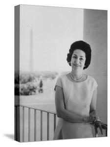 Mrs. Lyndon B. Johnson by Stan Wayman