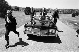 Secret Service Agents in Training, National Aboretum, Washington DC, 1968 by Stan Wayman