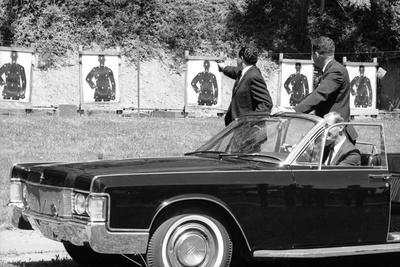 Secret Service Agents in Training, National Aboretum, Washington DC, 1968