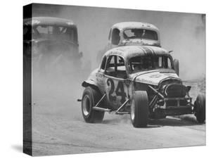 Semi Pro Stockcar Racing by Stan Wayman