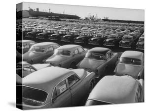 Shipment of Swedish Volvo Cars to USA by Stan Wayman