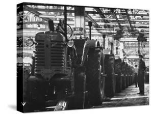 Tractor Plant in Minsk by Stan Wayman