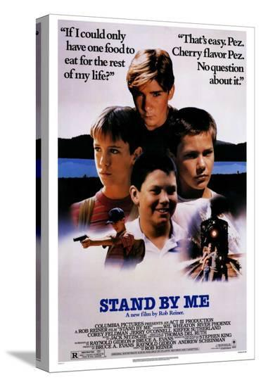 Stand By Me--Stretched Canvas Print