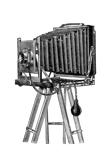 Stand Camera, 1904--Giclee Print