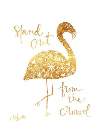 Stand Out from the Crowd-Katie Doucette-Art Print
