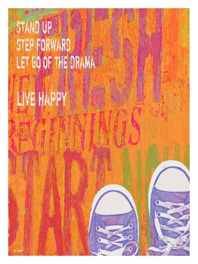 Stand Up-Lisa Weedn-Giclee Print