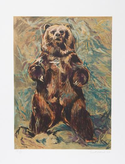 Standing Bear-Everett Hibbard-Collectable Print