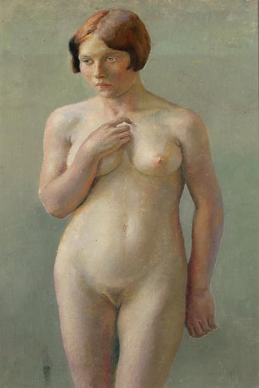Standing Female Nude--Giclee Print