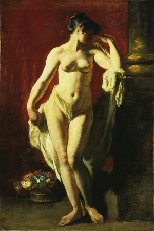 Standing Female Nude-William Etty-Giclee Print