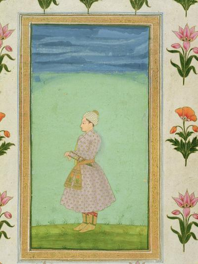 Standing Figure of a Boy with a Jewelled Dagger in his Sash, from the Small Clive Album--Giclee Print