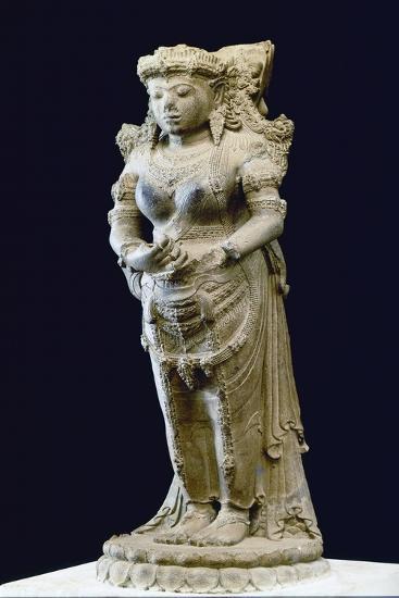 Standing Goddess, 14th-15th Century--Giclee Print