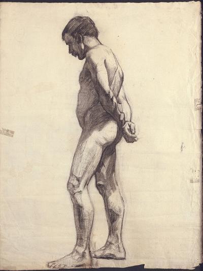 Standing Male Nude-F?lix Vallotton-Giclee Print