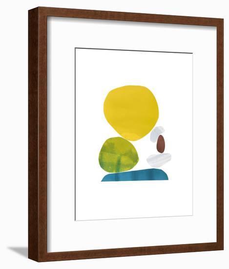 Standing Stone V-Rob Delamater-Framed Art Print