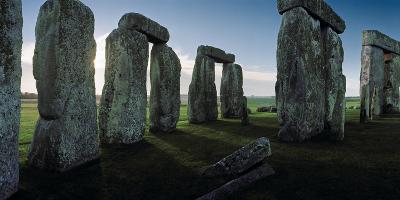 Standing Stones and Lintels of Stonehenge at Sunrise-Macduff Everton-Photographic Print