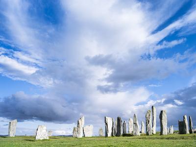 Standing Stones of Callanish, Isle of Lewis, Western Isles, Scotland-Martin Zwick-Photographic Print