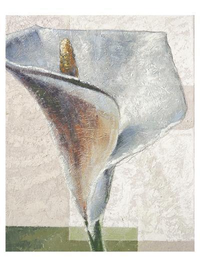Standing White-Karsten Kirchner-Art Print