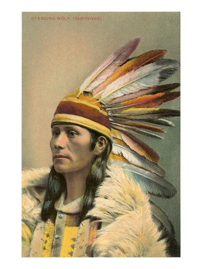 Standing Wolf, Cheyenne Indian--Art Print