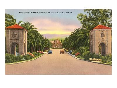 Stanford, Palo Alto, California--Art Print