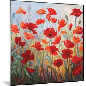 Poppies at Dusk I by Stanislav Sidorov