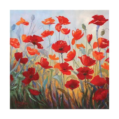 Poppies at Dusk I