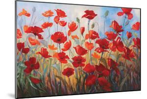 Poppies at Dusk III by Stanislav Sidorov