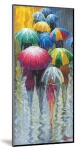 Walking in Rain I by Stanislav Sidorov