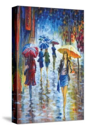 Walking in Rain III