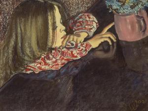 Child with a Flower Pot by Stanislaw Wyspianski