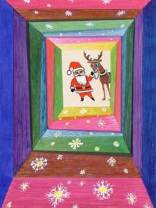 Santa and His Reindeer by Stanley Cooke