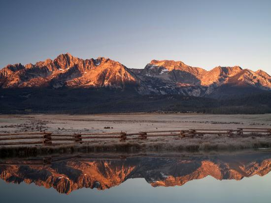 Stanley, Idaho Is the Gateway to the Sawtooth Mountains, Frank Church Wilderness-Sean Bagshaw-Photographic Print