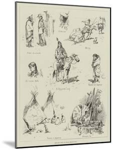 Sketches from an Indian Reservation by Stanley L^ Wood