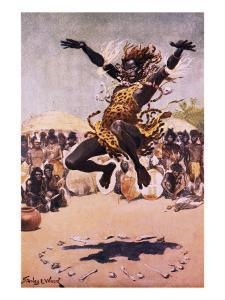 Tribal Dance by Stanley L. Wood