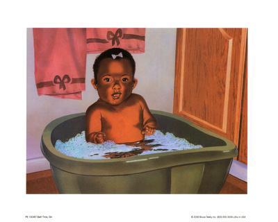 Bath Time Girl