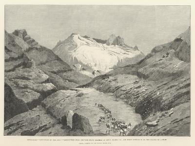 Stanley's Emin Pasha Relief Expedition-Charles Auguste Loye-Giclee Print