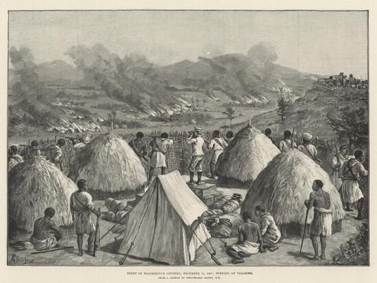 Stanley's Emin Pasha Relief Expedition-Johann Nepomuk Schonberg-Giclee Print