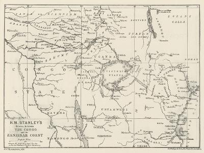 Stanley's Emin Pasha Relief Expedition--Giclee Print