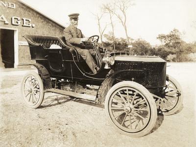 Stanley Steamer Car, 1906-Wallach-Photographic Print