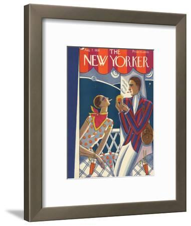The New Yorker Cover - August 7, 1926