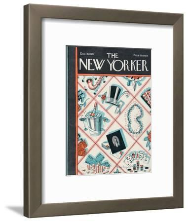 The New Yorker Cover - December 26, 1925