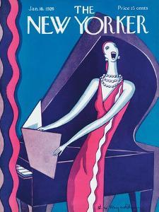 The New Yorker Cover - January 16, 1926 by Stanley W. Reynolds