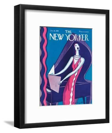 The New Yorker Cover - January 16, 1926