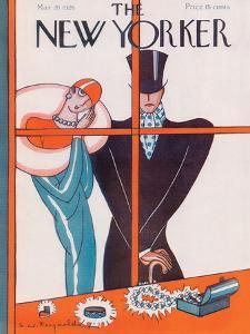 The New Yorker Cover - March 20, 1926 by Stanley W. Reynolds