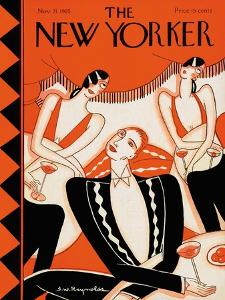 The New Yorker Cover - November 21, 1925 by Stanley W. Reynolds