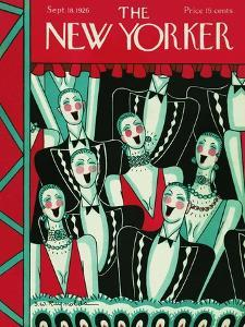 The New Yorker Cover - September 18, 1926 by Stanley W. Reynolds