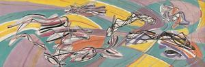 Fish in the Escoutay by Stanley William Hayter