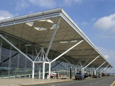 Stansted Airport Terminal, Stansted, Essex, England, United Kingdom-Fraser Hall-Photographic Print